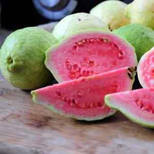 Beautiful, delicious, refreshing guavas.