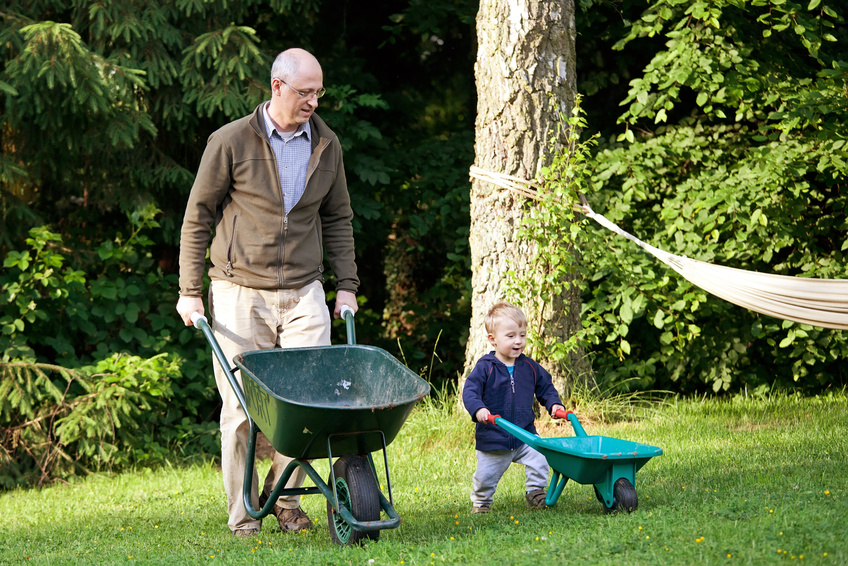 Giving children right-sized garden tools enhances their experience in the garden.